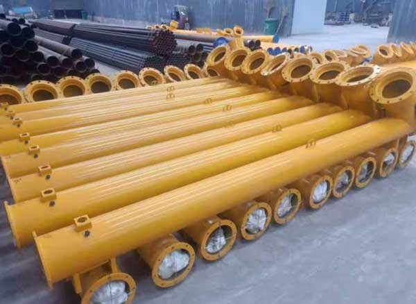 screw-conveyor-of-concrete-batching-plant