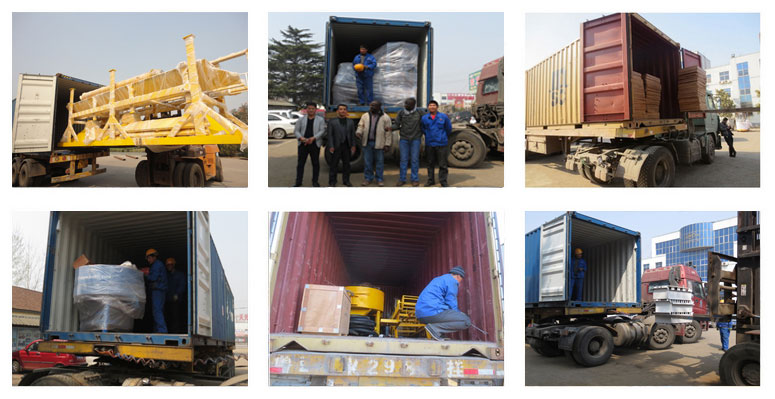 block making machine send to Mozambique