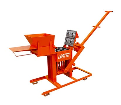 LT2-40 Mud Clay Brick Making Machine in Pakistan