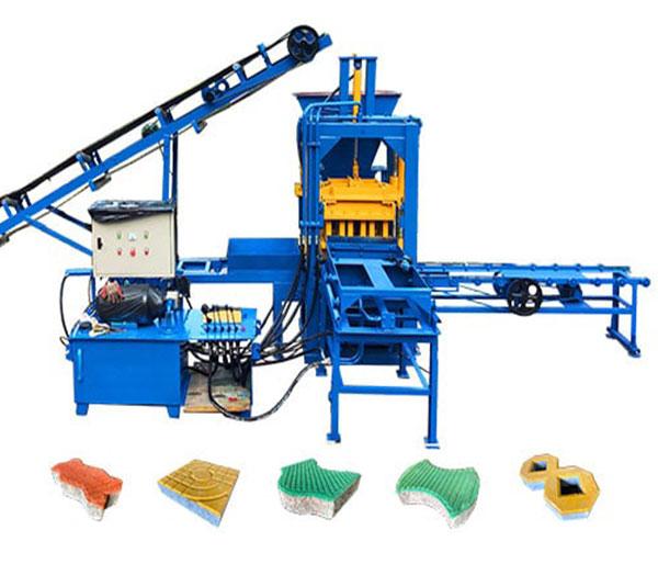 automatic block making plant