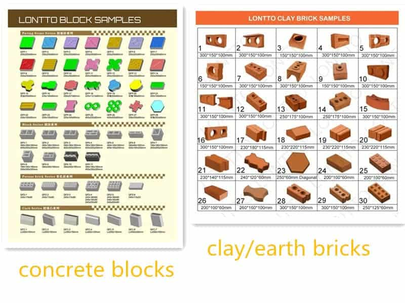 brick samples in pakistan