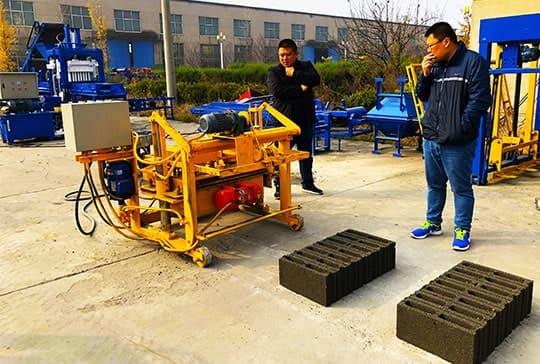 Manual-Brick-Making-Machine-testing