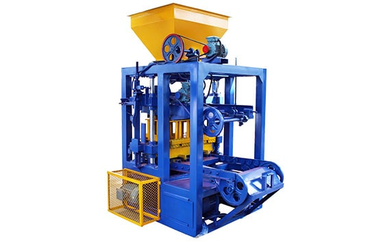 LMT4-26 Manual concrete block making machine