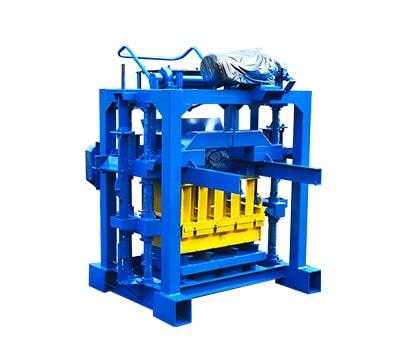 LMT4-40 manual concrete block machine