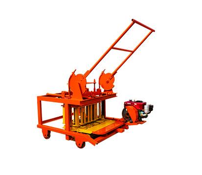 QCM4-30 Manual Mobile Concrete Block Machine