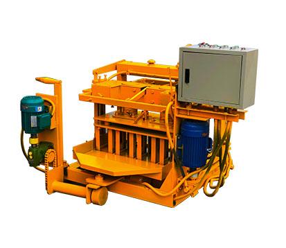 QMY4-30 Simple Mobile Concrete Block Machine