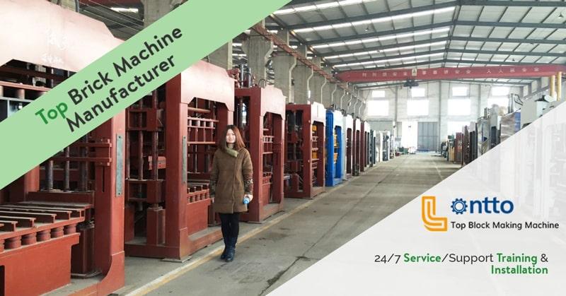manual concrete block machine factory