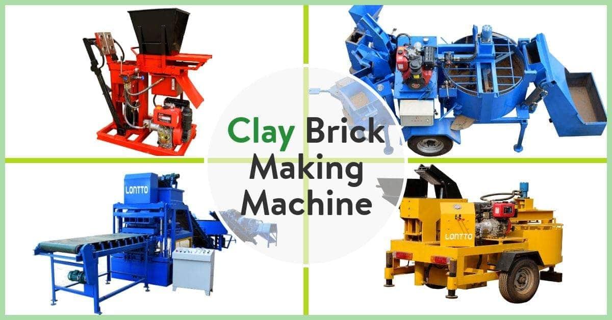 simple clay brick making machine