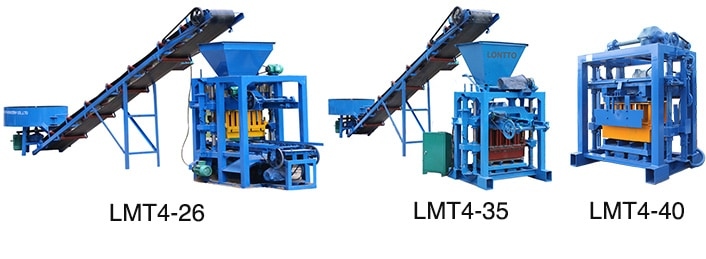small brick press machine