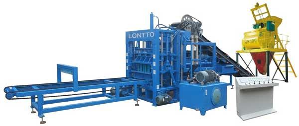 hydraulic concrete block making machine for sale
