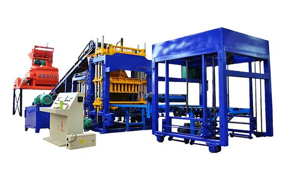 hydraulic concrete brick making machine qt6-15