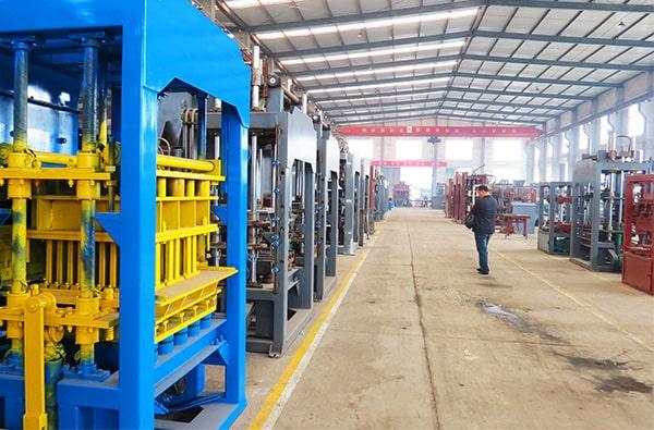 brick production machine factory