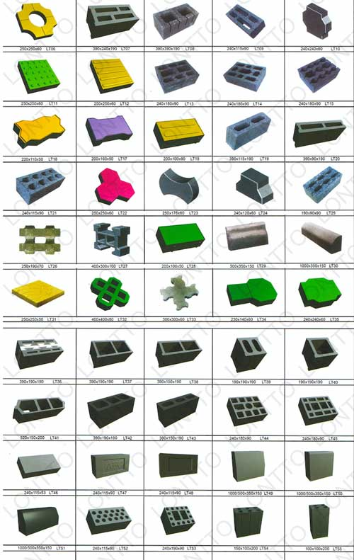 manufacturing all size of bricks