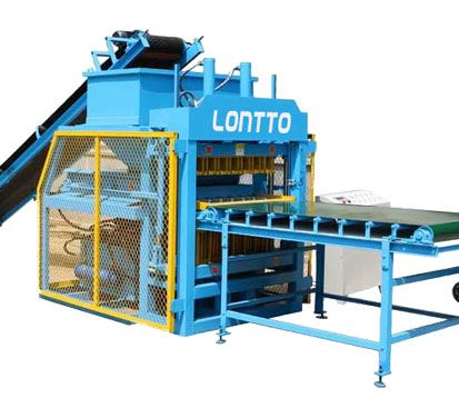 LT7-10 Automatic Clay Mud Brick Making Machine