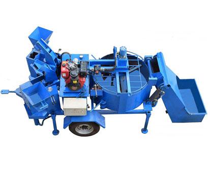 M7MI Twin Clay Mud Brick Making Machine lontto