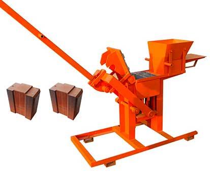 lontto LT2-40 MUD brick making machine for sale